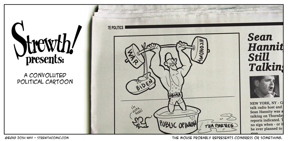 A Convoluted Political Cartoon